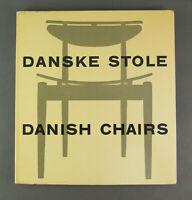Very rare book Danske Stole/Danish Chairs Nana Ditzel midcentury modern 1954