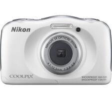 White Digital Compact Cameras