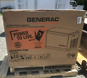 generac 22 kW standby generator with 200 amp transfer switch *in stock*