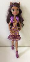 Monster High Dance The Fright Away Clawdeen Wolf Doll EUC