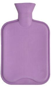 Lilac Plain 2.0L Hot Water Bottle