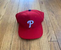 Philadelphia Phillies Vintage 90's Sports Specialties Wool Snapback EUC Rare MLB