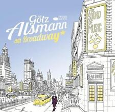 Am Broadway (Vinyl) von Götz Alsmann (2014) 2-LP Blue Vinyl + Download Neuware