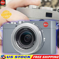 12.8 M/P Leica D-Lux Digital Camera TYP 109 - Silver Solid Gray Camera