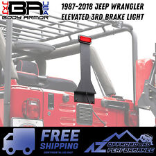 Body Armor 4X4 Elevated CHMSL 3rd Brake Light Kit 87-18 Jeep Wrangler JK-5120