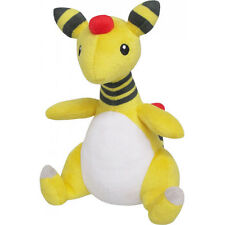 "Genuine Sanei Pokemon Go All Star Collection - PP28 - Ampharos 7.5"" Plush Doll"
