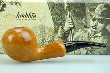 Brebbia Pfeife Chiocciola Pura Hell gebeizt 9mm Filter #835