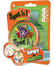 Spot It! Junior Animals Family Card Game Asmodee Zygomatic Party Blister Pack Jr