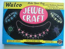 Vintage Walco Jewel Craft Kit  1941  Mint  Old Store Stock