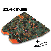 Dakine Rebound 2 Piece Surfboard Traction Pad Olive Camo + Free Leash String