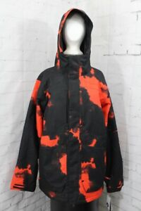 Volcom Scortch Insulated Snowboard Jacket, Mens' Extra Large/XL, Magma Smoke New