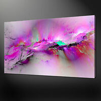 PAINT SPLASH CANVAS PRINT PICTURE WALL ART FREE UK DELIVERY