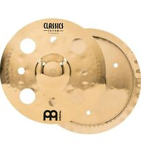 Meinl 12 Inch Trash Stack Cymbal Pair With Holes Classics Custom Brilliant