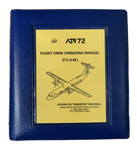 ATR 72 FCOM Vol Two. Flight Crew Operating Manual. Immaculate unused condition.