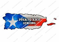 5 inch Puerto Rico Strong Car Truck Print Sticker Vinyl Decal Graphic