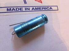 120uF, 50DC SPRAGUE 500D USA Axial Capacitor New Old Stock (Quantity 1 Piece)