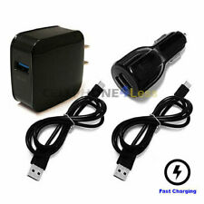 For BlackBerry Keyone Fast 18W Charger + USB Type C Cable