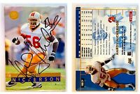 Hardy Nickerson Signed 1996 Ultra #157 Card Tampa Bay Buccaneers Auto Autograph