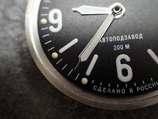 THE.TROIKA.ONE - CHROME - VOSTOK MINUTE HAND WH.M-03-CH
