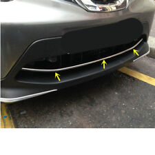 for Nissan Rogue Sport 2017 - 2019 Chrome Front Bottom Grille Cover Trim Molding