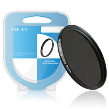 RISE(UK) 62mm ND1000 SLIM Graufilter ND Neutral Density Filter 1000 for Lens +B.