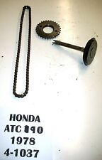 1978 HONDA ATC 90 3 WHEELER TIMING CHAIN & GEARS GEAR