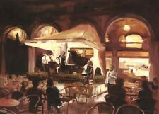 "NEW ELAINE MARSTON ORIGINAL ""Beautiful Music, St Mark's Square, Venice"" PAINTING"