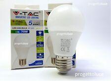 LAMPADINA LED E27 11W BULB GOCCIA A58 GLOBO LAMPADA V-TAC VT-211 CHIP SAMSUNG