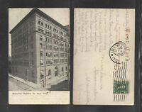 1907 MANHATTAN BUILDING ST PAUL MINN POSTCARD