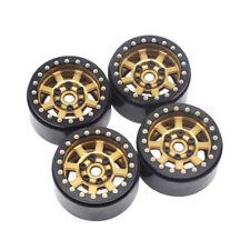 4PCS 1.9'' Aluminum Beadlock Wheel Rims for 1/10 Rc Crawler Axial Scx10 II D90