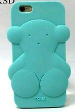 Funda Carcasa IPhone 6/6s Oso Tous Azul Turquesa 3D Silicona