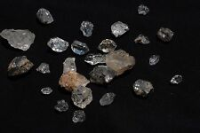 "Herkimer Diamonds 25 pc ""med"" sz (quartz crystals)- gemstone rock mineral fossil"