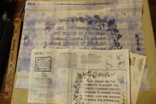 1972 vintage transfer 2215 embroidery original envelope and instructions