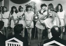 ARIELLE DOMBASLE ROSETTE CHASSE CROISE 1981 PHOTO ANCIENNE ARGENTIQUE N°8