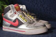 Nice Silver Pink Black NIKE DELTA FORCE Basketball Shoes US Size 7 UK 4.5 EUR 38