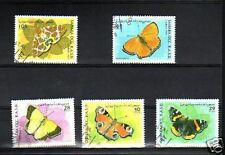 1903++SAHARA OCCIDENTAL   SERIE TIMBRES  PAPILLONS 1997