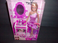 """Barbie """"Getting Ready"""" Doll Mattel Mint Condition"""