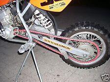 RK Kette für KTM SX 50 SX 65, rot beschichtet