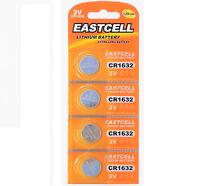 4 x CR1632 3V Lithium Batterie auf (1 Blistercard a 4 Stück ) EASTCELL