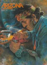 Arizona Highways Magazine 1974 Indian Crafts Jewelry Articles Art Cover