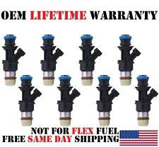 8x OEM Delphi Fuel injectors for Chevy Buick Cadillac Hummer GMC 4.8/5.3/6.0L V8