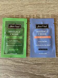 Bon Vital Massage Creme Samples (2)