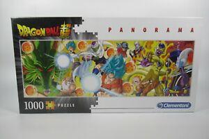 Clementoni Dragon Ball Super Panorama 1000 Piece Jigsaw Puzzle new sealed