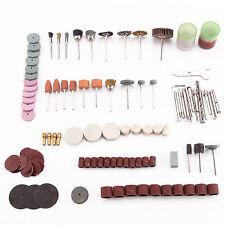 136Pcs Rotary Tool Accessory Grinding Polishing Cutting Bit Kit for Dremel 1/8''