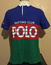 Polo Ralph Lauren Hi Tech Rafting Club Shirt Medium Climb Alpine Stadium 92 23