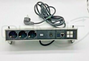BACHMANN DESK 2  1x LAN 3x Stecker 1x HDMI