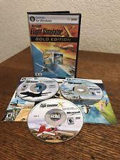 Microsoft Flight Simulator X Gold Edition + Acceleration Pack W/ CD Key