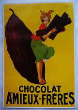 CPM REPRODUCTION AFFICHE ANCIENNE / CHOCOLAT AMIEUX-FRERES / STALH
