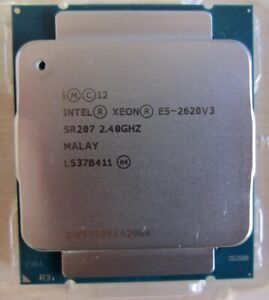 Intel Xeon E5-2620V3  6x 2,4 GHz LGA2011-3