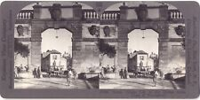 Ronciglione Italie Italia STEREO Stereoview Vintage Argentique